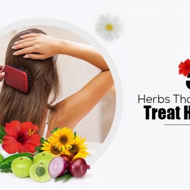 5 Herbs that naturally treat Hair Loss