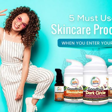 5 Must-Use Skincare Products when you enter your 20s