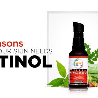5 Reasons why your Skin needs Retinol