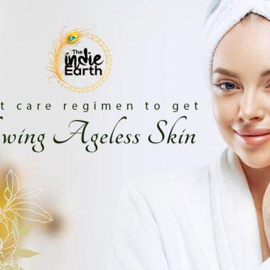 Night care regimen to get glowing ageless skin