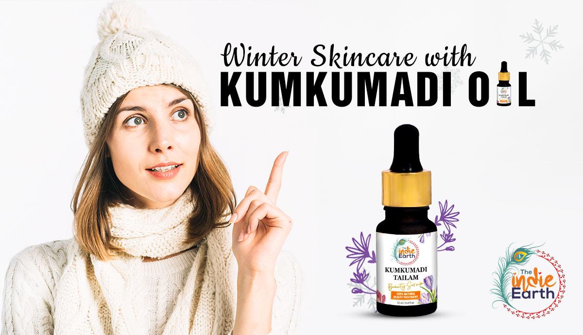 Winter-Skincare-with-Kumkumadi-Oil