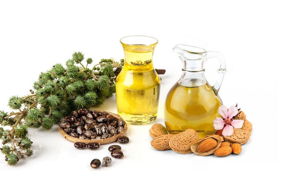 Castor-Oil-with-Almond-Oil